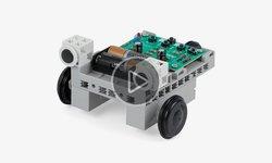 Видеообзор конструктора ArTeC Программированный робомобиль BT