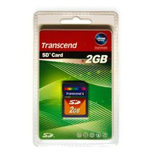 Transcend SD card 2 GB - Short description