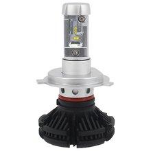 Car LED Headlamp Kit UP X3HL H4W 6000LM H4, 6000 lm, cold white  - Short description