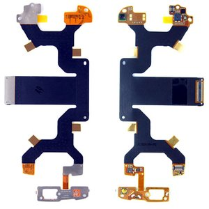 Flat Cable for Nokia N97 Cell Phone, (for mainboard, with components, with camera)