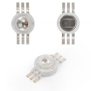 LED 3 W (RGB, 6-pin, 350 mA)