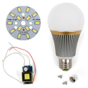 LED Light Bulb DIY Kit SQ-Q23 5730 E27 7 W– cold white