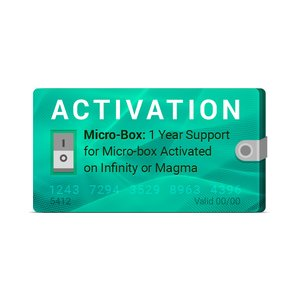 Micro-Box: 1 Year Support Activation for Micro-box Activated on Infinity or Magma