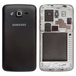 Carcasa para celular Samsung G7102 Galaxy Grand 2 Duos, negro