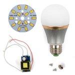 Juego de piezas para armar lámpara LED SQ-Q22  7 W (luz blanca cálida, E27)
