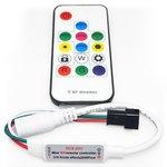 Контроллер с РЧ пультом SP103E (RGB, WS2801, WS2811, WS2812, WS2813 5-24 В)