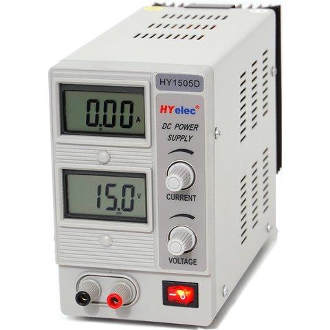 Регулируемый блок питания HYelec HY1505D