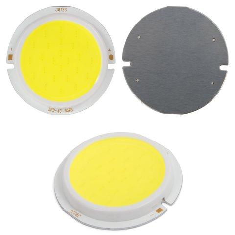 COB LED модуль 5 Вт холодний білий, 450 лм, 43 мм, 300 мА, 15 17 В