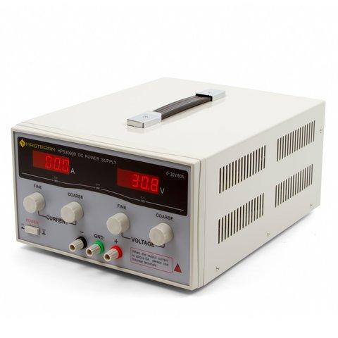 Лабораторний блок живлення Masteram HPS3060D