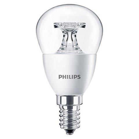 LED лампа Philips CorePro Luster, WW теплий білий  , Е14, 4 Вт, 250 лм