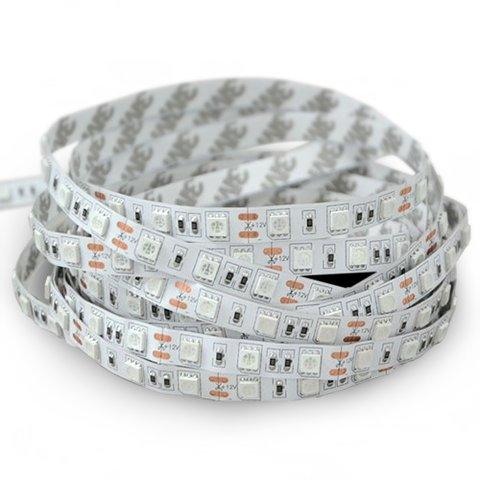 Світлодіодна стрічка SMD5050 ультрафіолет, 60 світлодіодів, 12 В DC, 1 м, IP20