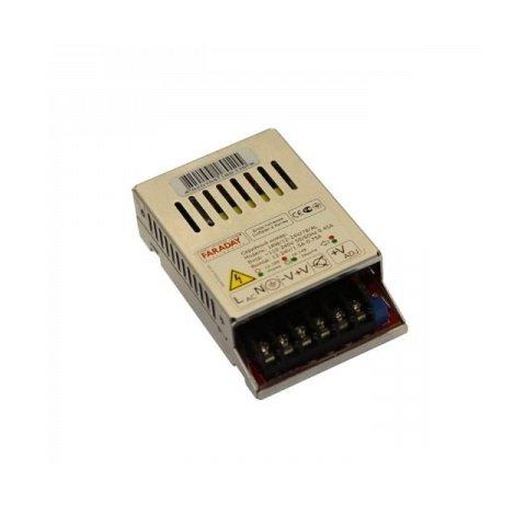 AC DC перетворювач Faraday ALU 18 Вт, 12 В, 1,5 А