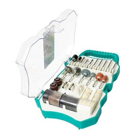 Набір аксесуарів Pro'sKit PT 5100 для шліфмашин Pro'sKit PT 5201A, PT 5201B, PT 5501I