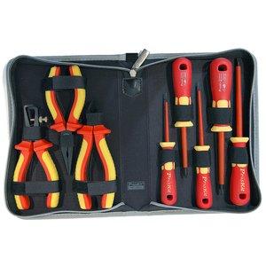 Набор отверток и плоскогубцев Pro'sKit PK-2801 с изолированными рукоятками для работы под напряжением до 1000 В